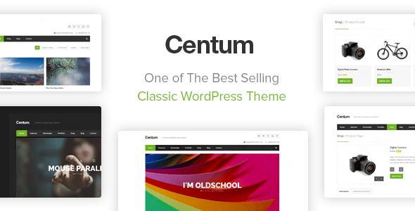 Centum - Responsive WordPress Theme - Business Corporate