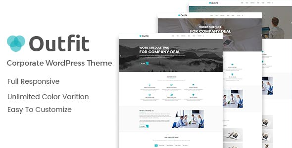 Outfit – Business, Consultancy Corporate WordPress Theme