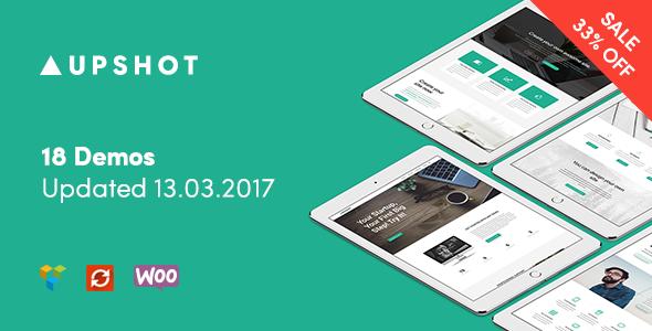 Upshot - Business Multi Purpose WordPress Theme - Business Corporate