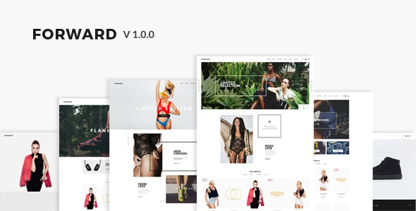 Forward - Responisve Shopify theme - Shopify eCommerce