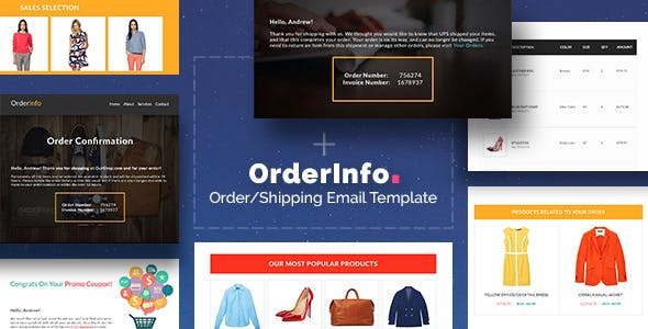 OrderInfo - Order / Shipping Mail + Builder Editor Access