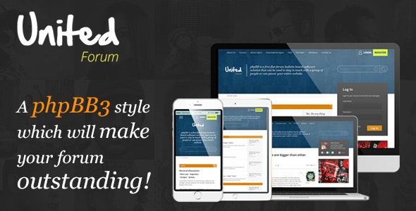 UnitedForum - phpBB3 Forum Style - PhpBB Forums