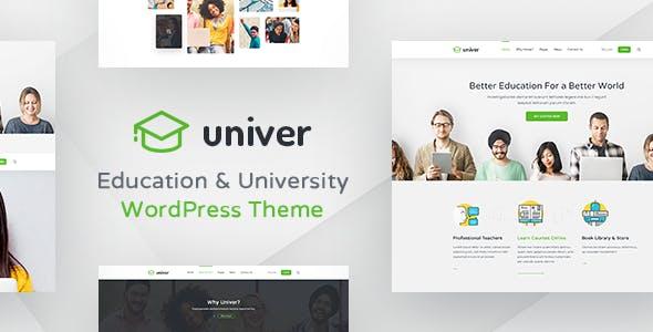 University WordPress Theme - Univer