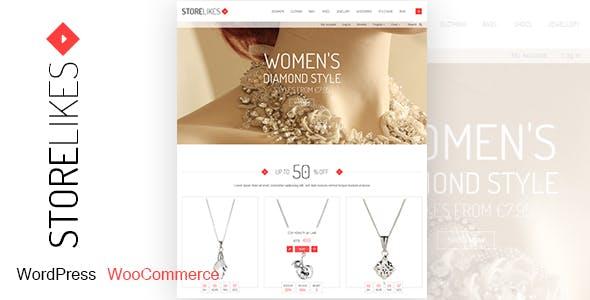 Storelikes - Fashion RTL Responsive WooCommerce WordPress Theme by 7uptheme
