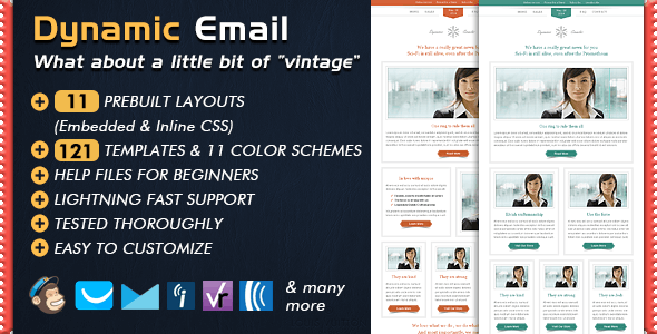 DYNAMIC - Email Template by Bedros | ThemeForest