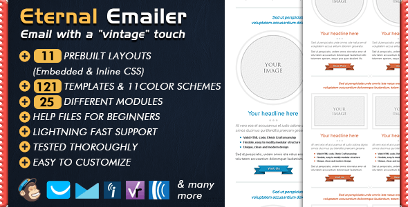 Email Template - ETERNAL Newsletter - Email Templates Marketing