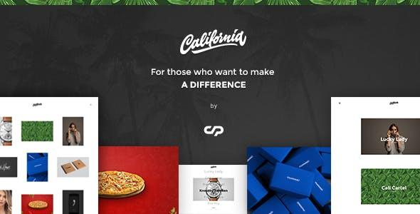 California - A theme for Creatives