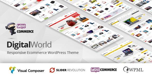Digitalworld - Electronics & Multipurpose WooCommerce Theme ( RTL Supported ) - WooCommerce eCommerce