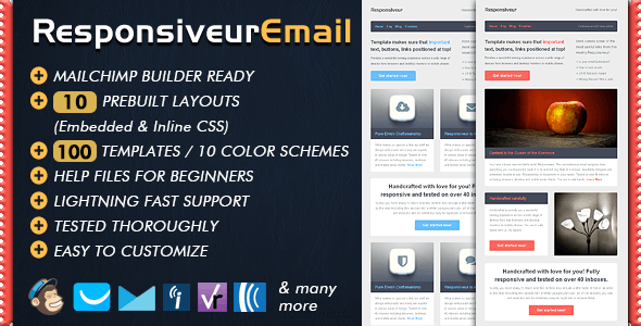 Responsiveur Responsive Email Newsletter Templates - Newsletters Email Templates