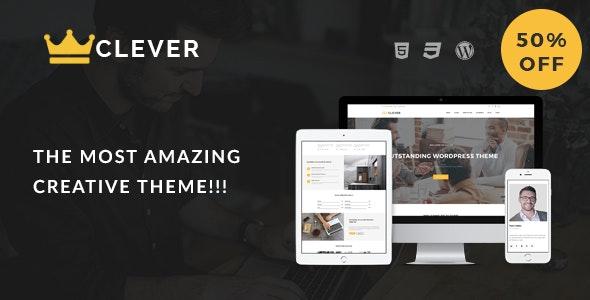 Clever - Creative Portfolio WordPress Theme - Portfolio Creative