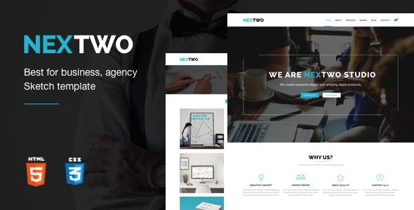 Nextwo - Business Studio Template - Creative Site Templates