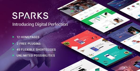 Sparks - App Development Theme - Software Technology