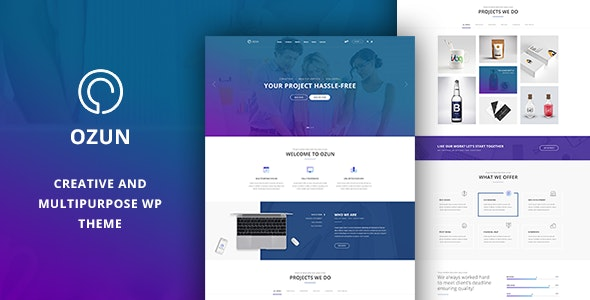 OZUN - Creative and Multipurpose WP Theme - Business Corporate