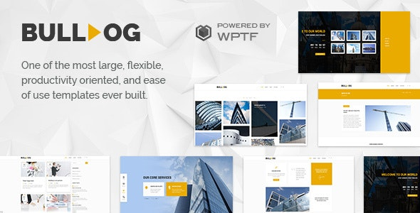 Bulldog - Construction Template - Business Corporate