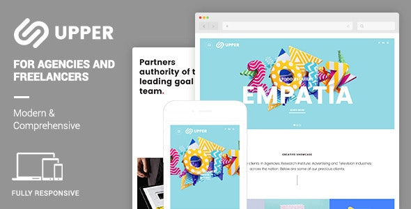 Upper | Modern & Comprehensive Portfolio - Creative Site Templates