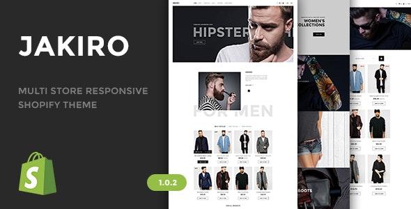 Jakiro - Multi Store Responsive Shopify Theme - Shopify eCommerce
