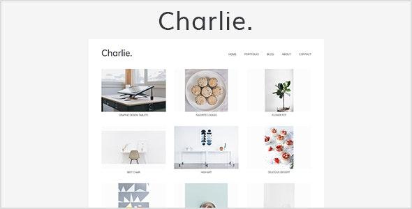 Charlie - Light Minimal Creative Portfolio Template - Creative Site Templates