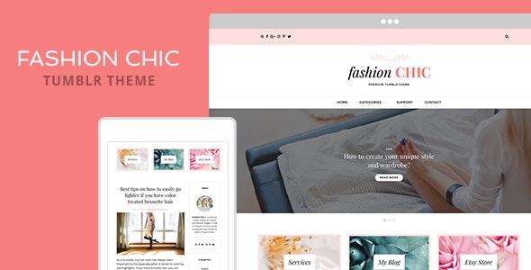 Fashion Chic Tumblr Theme - Blog Tumblr