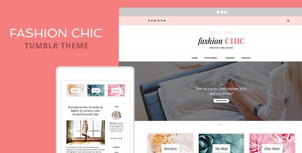 Download Fashion Chic Tumblr Theme