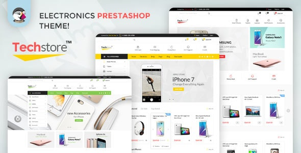 Techstore16 Responsive Prestashop Theme - Technology PrestaShop