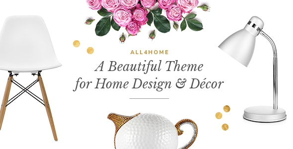 All4Home - Home Decoration Theme - Retail WordPress