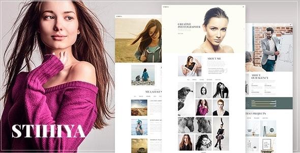 Stihiya - Photography WordPress - Photography Creative
