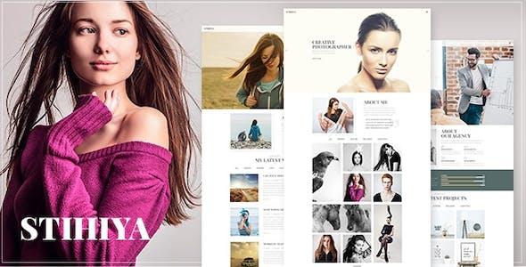 Stihiya - Photography WordPress