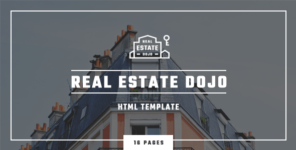 Real Estate Dojo - HTML/CSS Template - Business Corporate