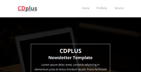 CDplus - Responsive Email template with Stampready builder
