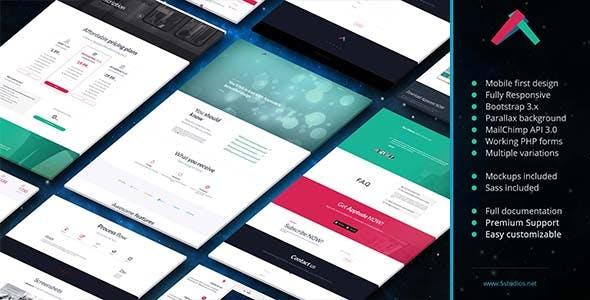 Apptude - Minimal App Landing Page