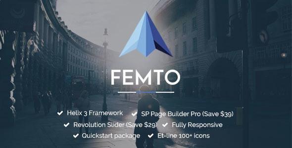 Femto | Responsive Multipurpose Joomla Template - Business Corporate