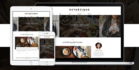 Esthétique - Personal WordPress Blog Theme - Personal Blog / Magazine