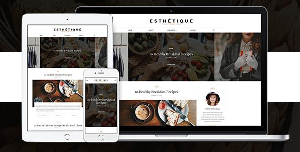 Esthétique - Personal WordPress Blog Theme - Personal Blog / Magazine
