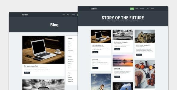 Gridline - Blog and Magazine WordPress Theme - Personal Blog / Magazine