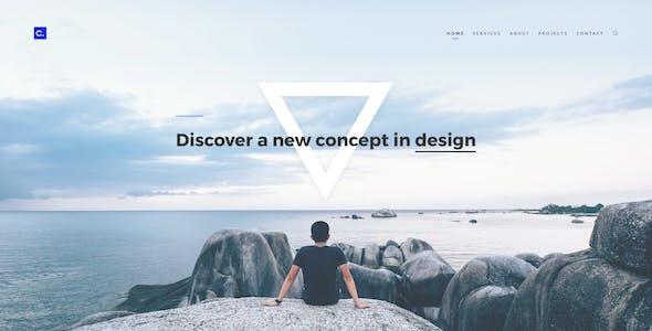 Composition No. 3 - Creative Multipurpose PSD Template
