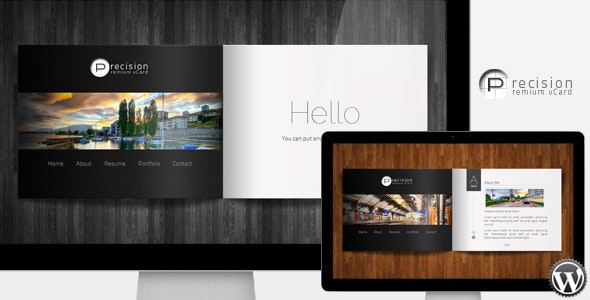 Precision - Premium vCard WordPress Theme - Personal Blog / Magazine