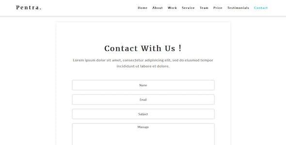 Pentra-Multipurpose Corporate HTML5 Template
