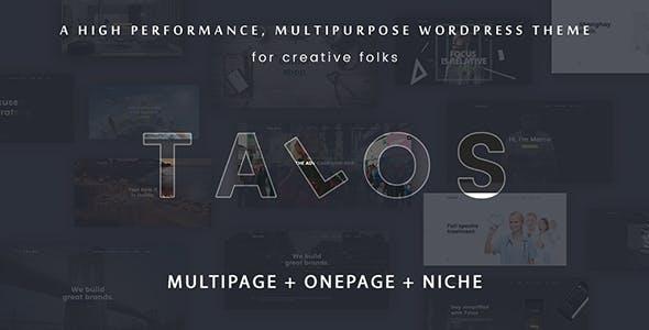 Talos - Creative Multipurpose WordPress Theme