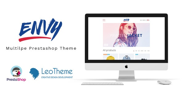 Leo Envy Responsive Prestashop 1.7 Theme - Fashion PrestaShop
