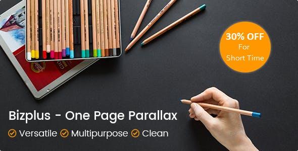 Bizplus - Joomla! One Page Parallax Theme