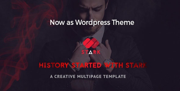 Stark - Creative WordPress Theme - Creative WordPress