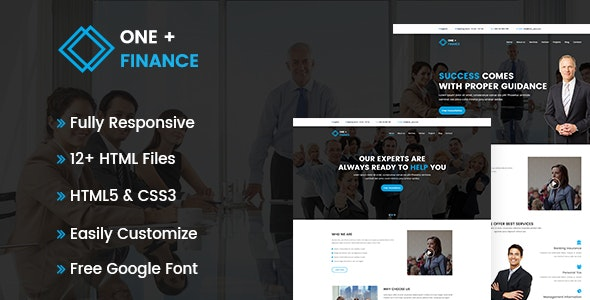 Finance Business HTML Template - Business Corporate