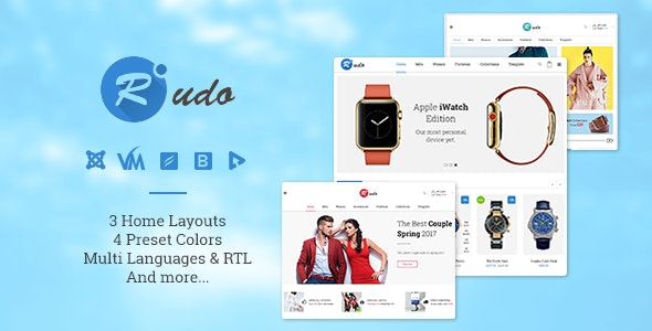 Vina Rudo - Multipurpose Virtuemart Joomla Template - VirtueMart Joomla