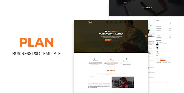 Plan- Bussiness PSD Template - Business Corporate