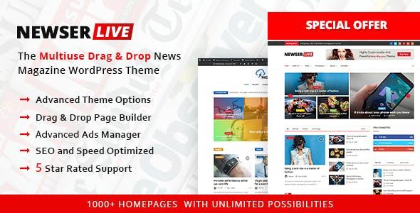 Newser - Newspaper & Magazine WordPress Theme