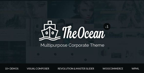 The Ocean - Multi Concept WordPress Theme