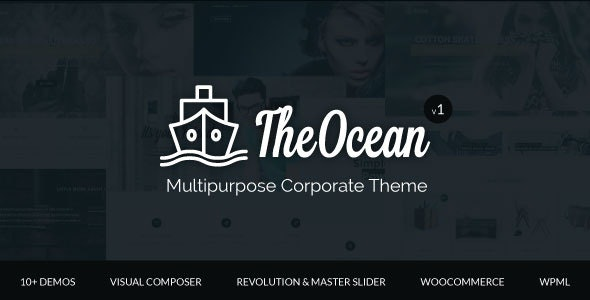 The Ocean - Multipurpose WordPress Theme - Creative WordPress