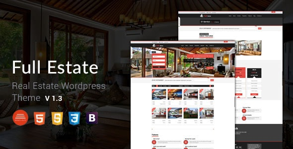 Full Estate - Wordpress Real Estate Theme - Real Estate WordPress