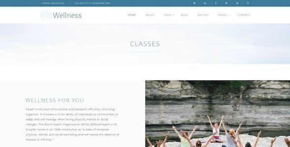 Wellness Health and Yoga - Photoshop Blog & Shop