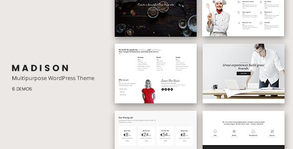 Madison - Multipurpose Responsive WordPress Theme